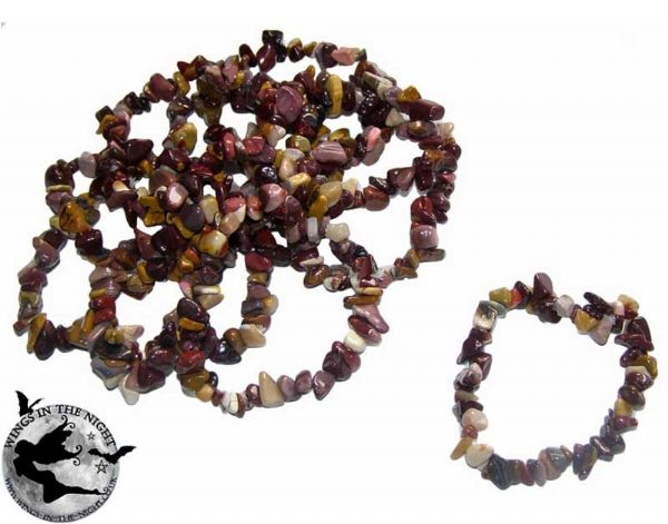 MOOKAITE Crystal Chip Gemstone Bracelet